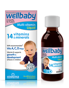 Wellbaby Multi-vitamin Liquid